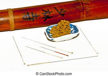 agulhas acupuntura