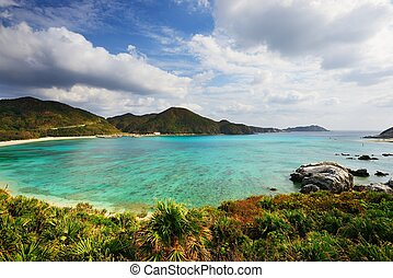 Aharen Beach in Okinawa