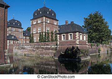ahaus, château, historique, allemagne, westphalie