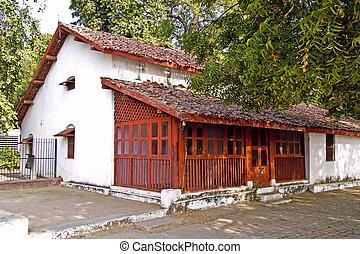 House of Mahatma Gandhis disciples - Ahmedabad, Gujarat,...