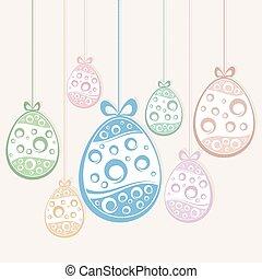 ahorcadura, huevos de pascua