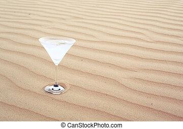 ahorro, agua, en, el, desierto