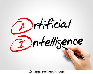AI - Artificial Intelligence, acronym concept