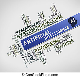 AI artificial intelligence wordcloud