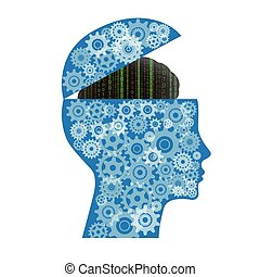 ai, intelligens, konstgjort