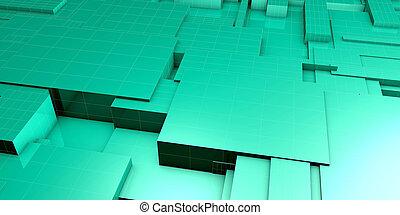 ai, intelligent, blocs, système, données, plate-forme