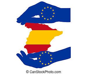 aide, espagne, européen