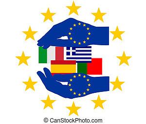 aide, européen