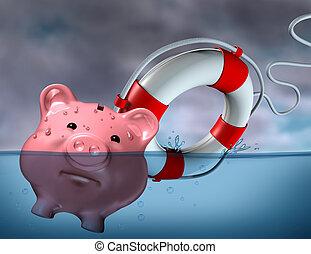 aide, financier