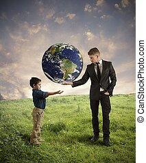 aide, nouveau, génération