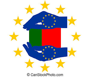 aide, portugal, européen