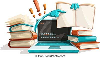 aide, réponses, technologies, informatique, moderne, education