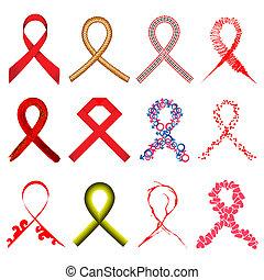Aids Awarness Ribbon