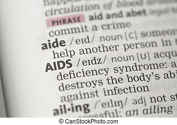 AIDS definition in the dictionary