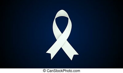 Aids ribbon, world aids day 3d rendering symbol, aids health...