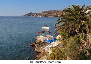 Aigina island in Greece - Aegina island at the mediterranean...
