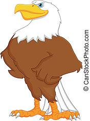 aigle, dessin animé