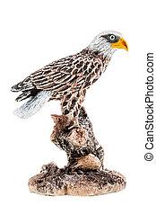 aigle, figurine