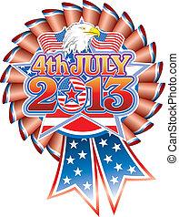 aigle, juillet, 4, 2013, rosette