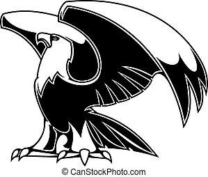 aigle, puissant