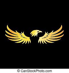 Dor embl me aigle dor embl me aigle - Comment dessiner un aigle royal ...
