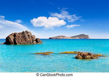 Aiguas Blanques Agua blanca Ibiza beach