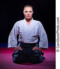 aikido, vechter
