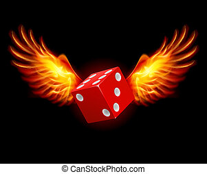 ailes, dice-fiery