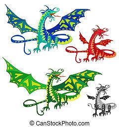 ailes, dragon