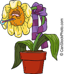Ailing flower
