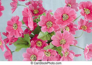 aimé, coloré, valentine, day., ceux, fleurs, ton