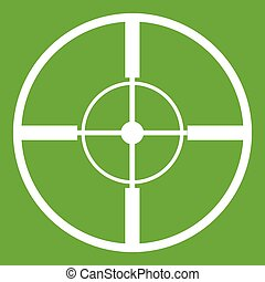 Aim icon green