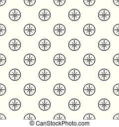 Aim scope target pattern seamless vector