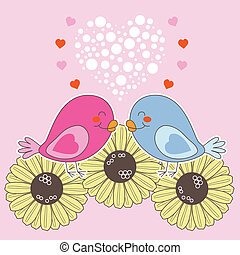 aimer oiseaux, valentin