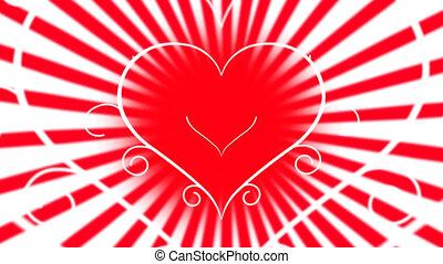 aimez coeur, animation