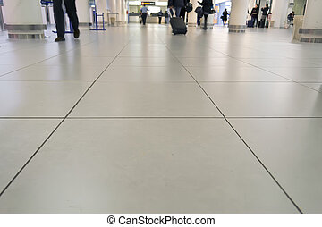 aiport, plancher