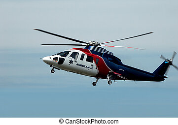 Air Ambulance Helicopter - An air ambulance helicopter...