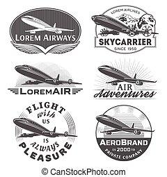 Air badges