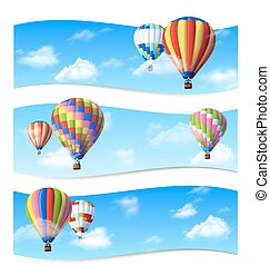 Air Balloon Banners