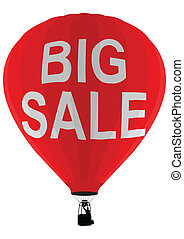 Air balloon, big sale