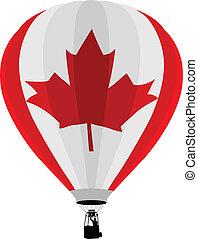 Air Balloon, Canadian Flag