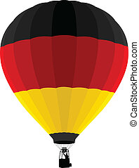 Air Balloon, Germany Flag