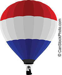 Air Balloon, Netherlands Flag