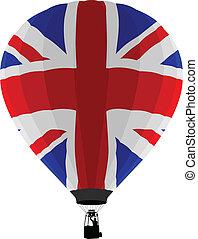 Air Balloon, UK Flag