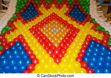 Air baloons carpet