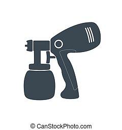Air brush icon.
