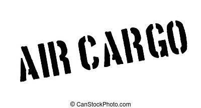 Air Cargo rubber stamp