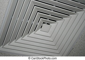 Air Cond Vent - Air Conditioning Ceiling Vent