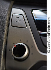 Air conditioner  button