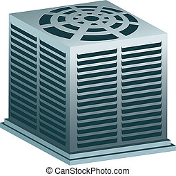 Air Conditioner - heating and cooling system.
